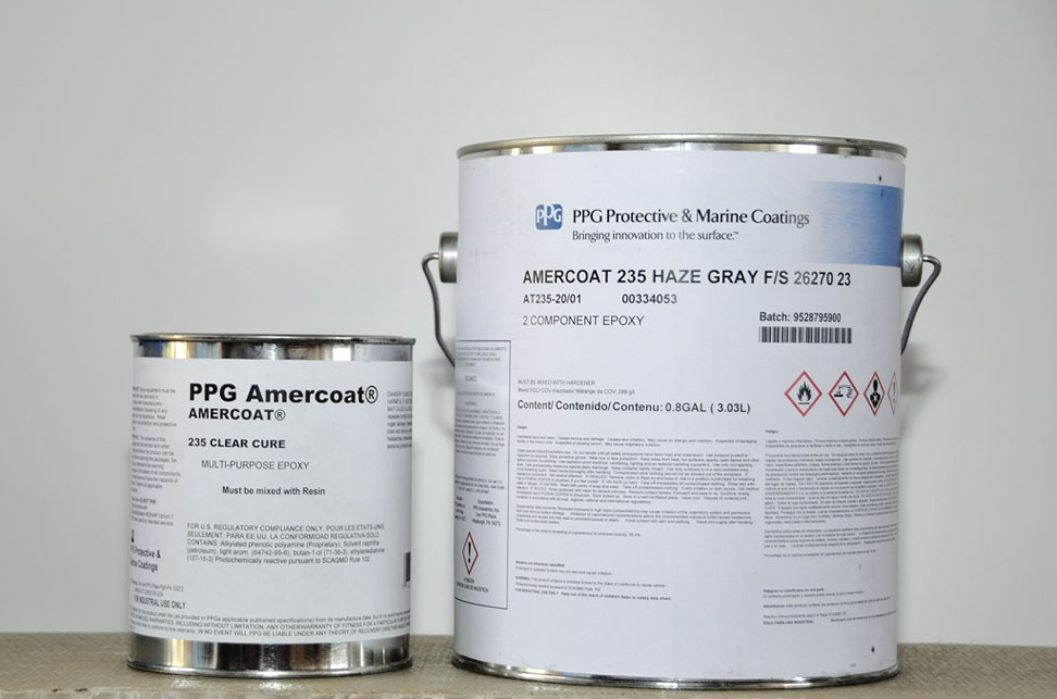 PPG 235 - Amercoat Grey Epoxy Primer | Boat Paint & Stuff ...